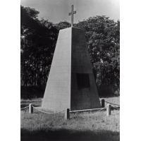 Le mémorial de Livingstone élevé près de l'Eglise de la mission écossaise à Chitambo
