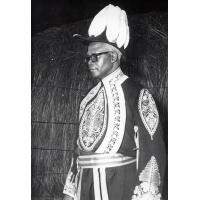 Le nouveau Litunga du Barotse, Gordon Mbikusila Lewanika