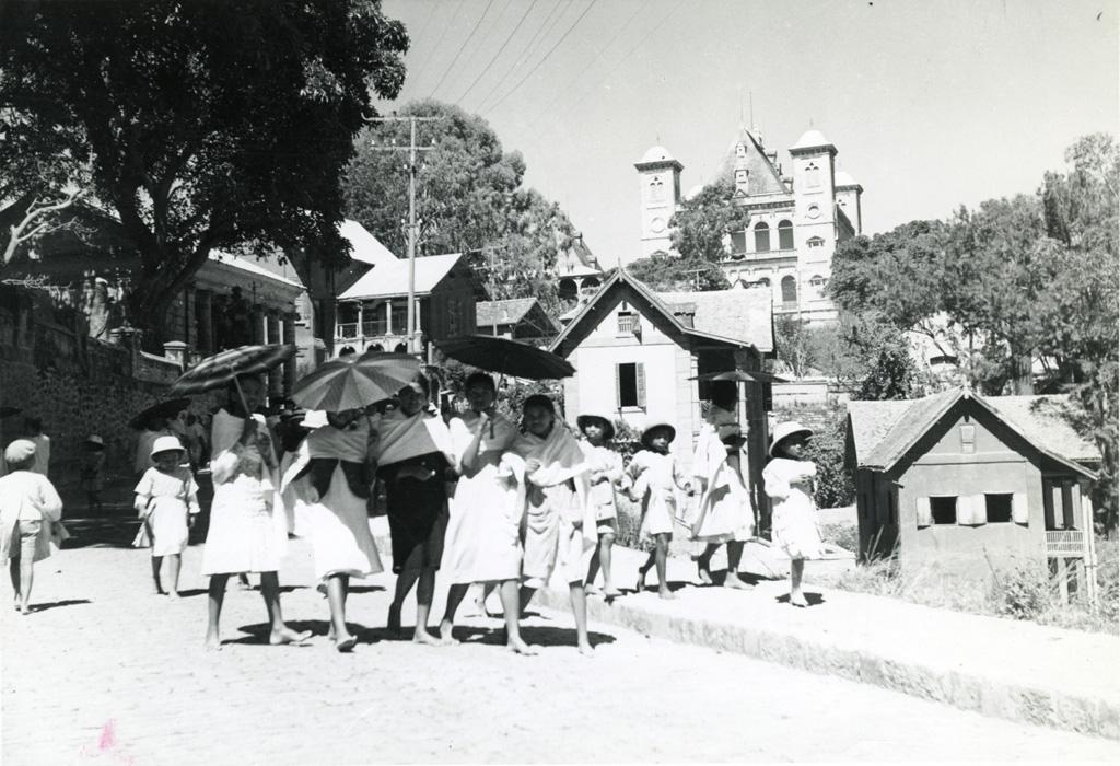 Le palais de la reine à Antananarivo