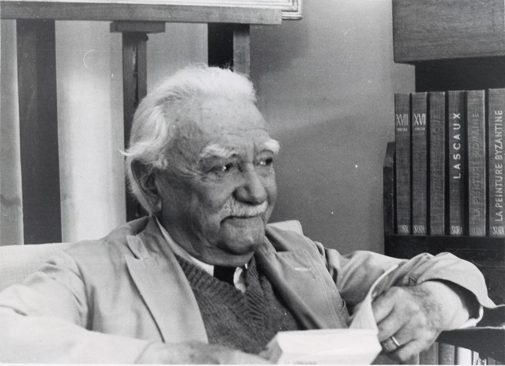 Le pasteur Henri Peyrot, photographié quinze jours avant sa mort