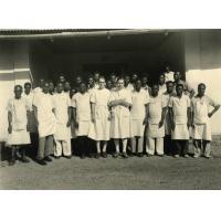 Le personnel de l'hôpital de Bangwa