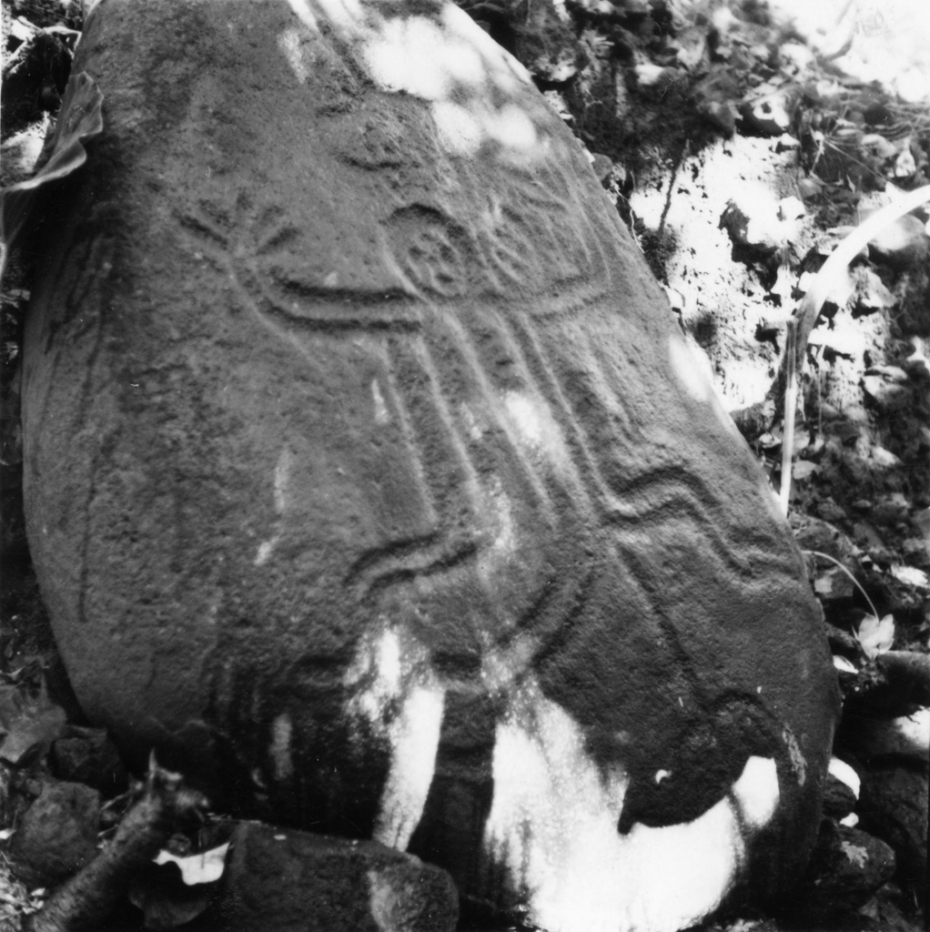 Le pétroglyphe de Tipearui