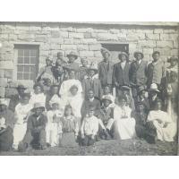 Le premier Consistoire de 1922. Il manque deux évangélistes et plusieurs anciens