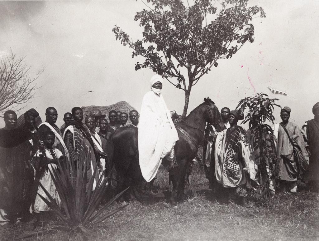 Le sultan à cheval
