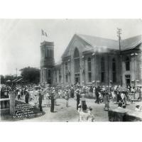 Le temple le jour de son inauguration