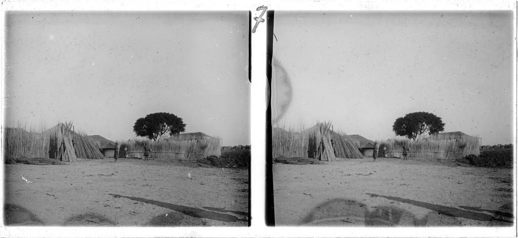 Le village de la Mokwae (princesse Lozi)