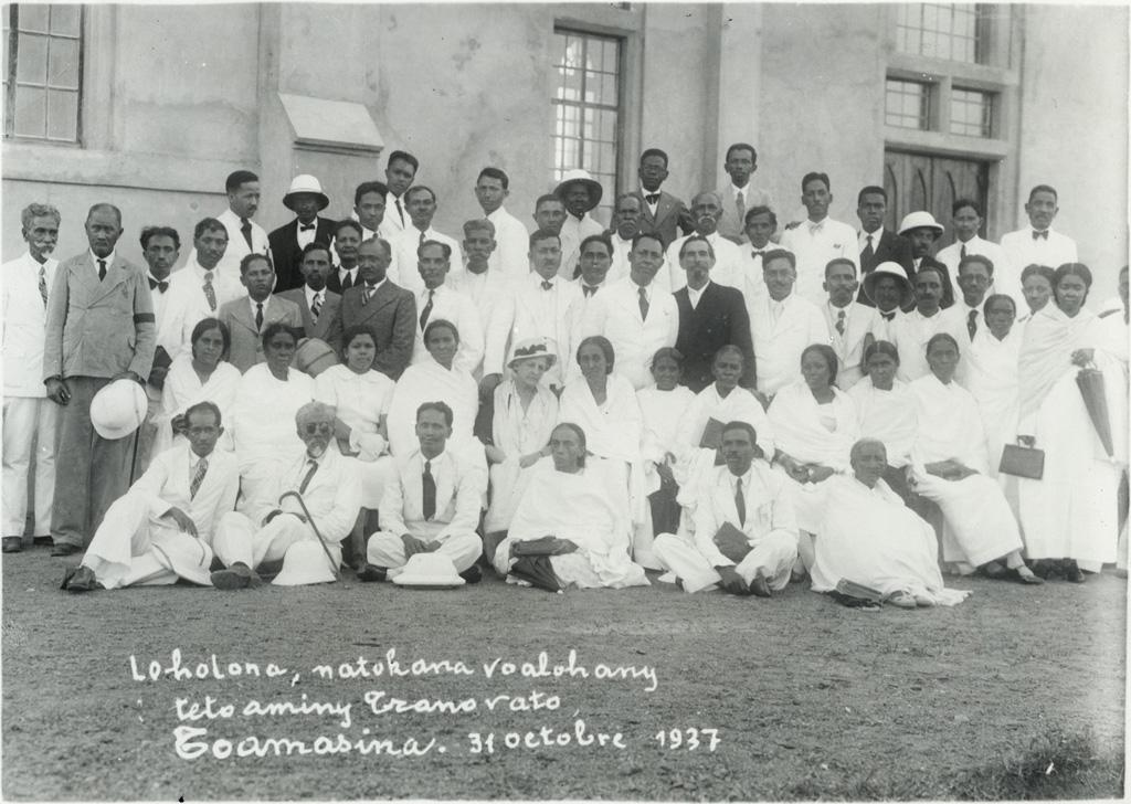 Les anciens au comité de l'église de Tamatave
