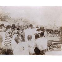 Les baptêmes d'adulte, Noël 1920, Foumban