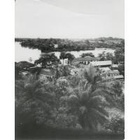 Les bâtiments de l'école de Ngomo