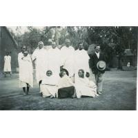 Les 'commandors' hommes et femmes, léproserie de Manankavaly