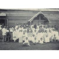 Les délégués des églises de la côte est au synode annuel de Tamatave