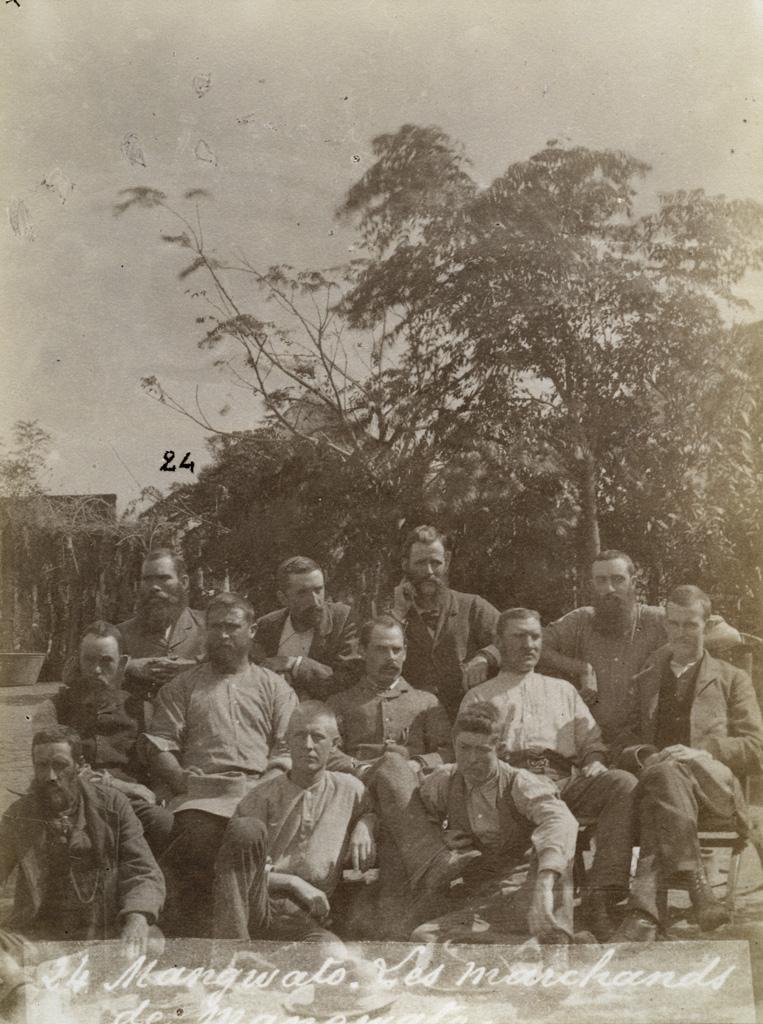 Les marchands de Mangwato