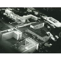 Les nouveaux ministères et le palais présidentiel
