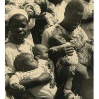 Les orphelins de la pouponnière de Bangwa