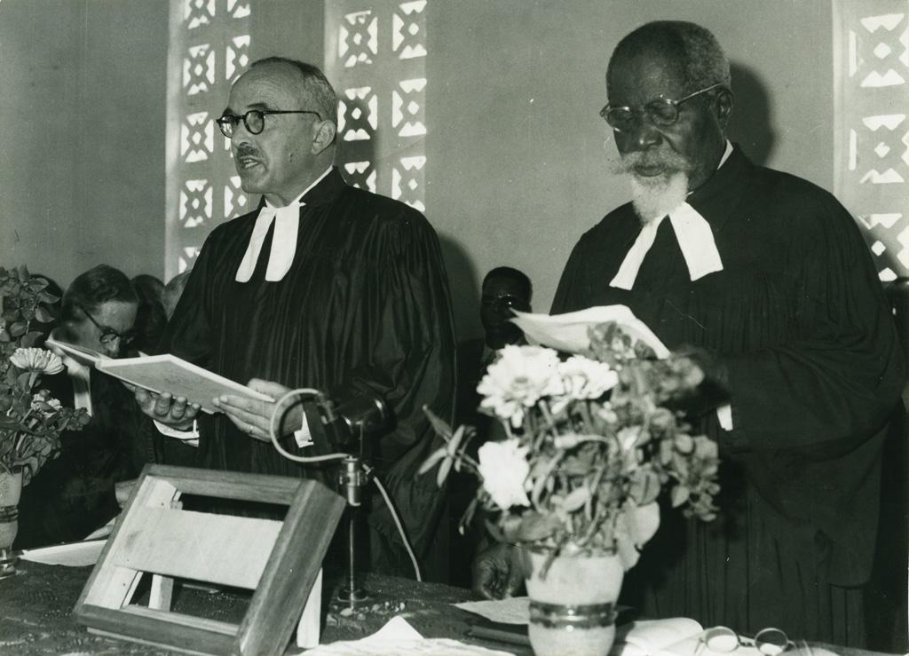 Les pasteurs Helmlinger et Jocky