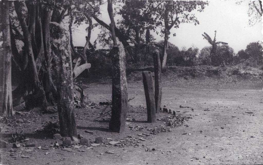 Les pierres sacrées de Foumban