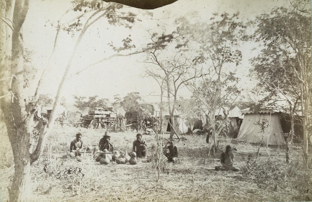 Leshoma, notre campement