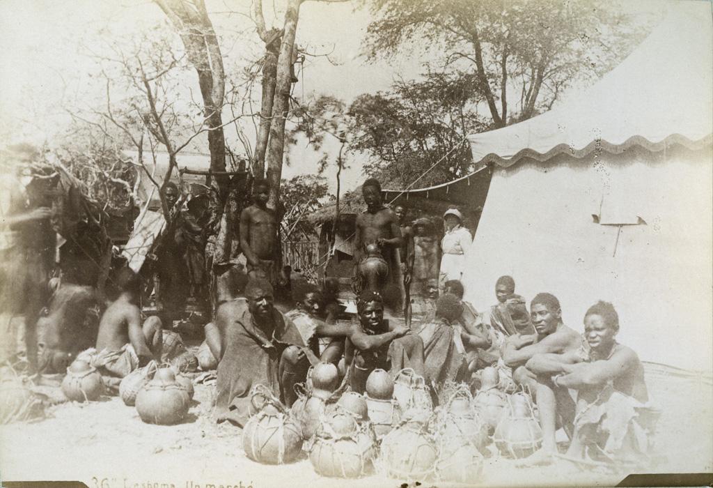 Leshoma, un marché