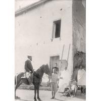 M. Martin sur Kely son petit cheval