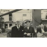 M. Neu et Graziella Jalla à Rotterdam