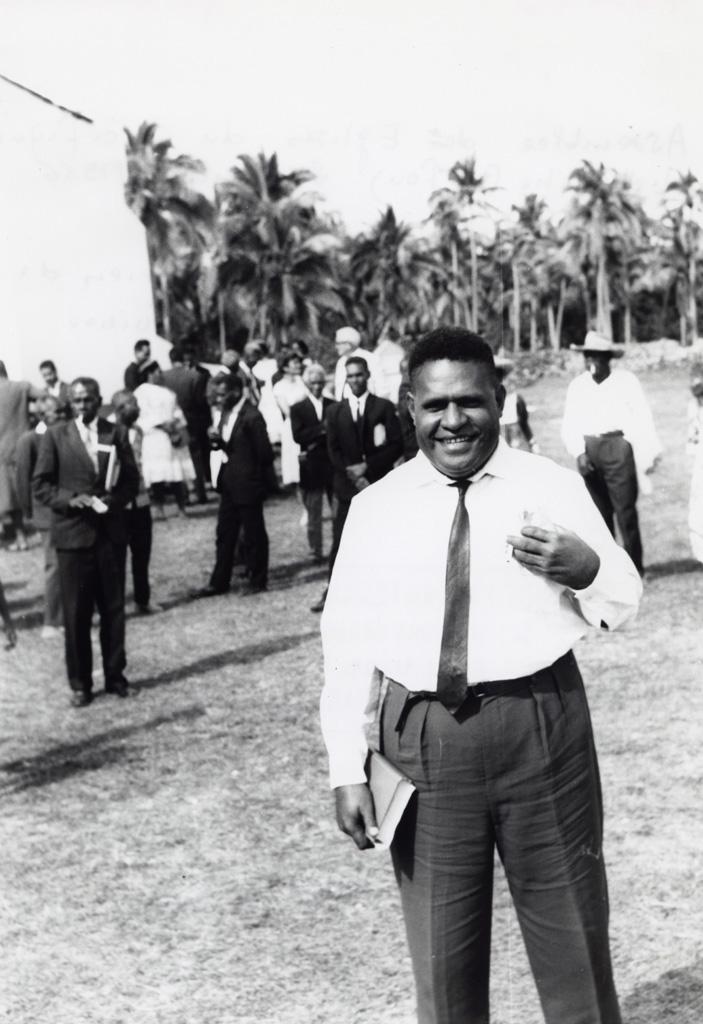M. Stahl Mileng, luthérien de Nouvelle-Guinée
