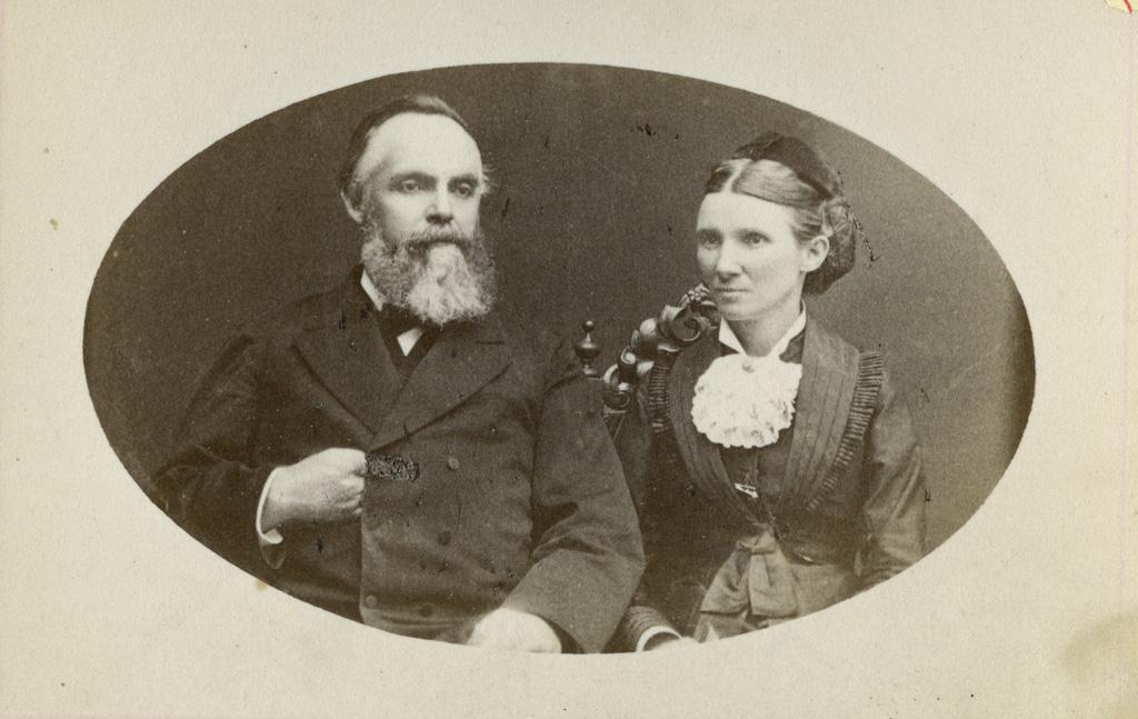 M. et Mme Adolphe Mabille / A. Piaget ([s.d.])
