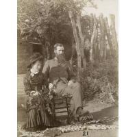 M. et Mme Clark, marchands
