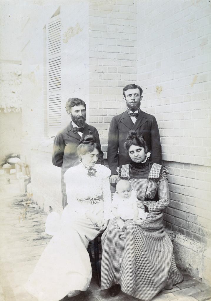 M. et Mme Martin, M., Mme et Violette Maroger