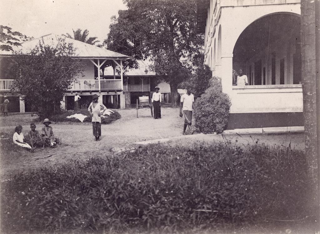 Maison d'Elie Allégret, au Cameroun