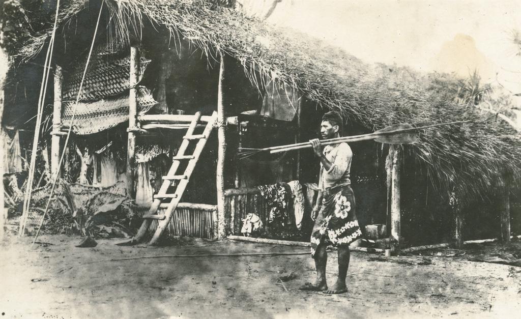 Maison de pêcheur tahitien