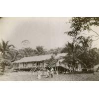 Maisons d'habitation à Lambaréné