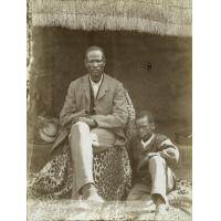 Mangwato, le chef Khama et son fils Sekhomé