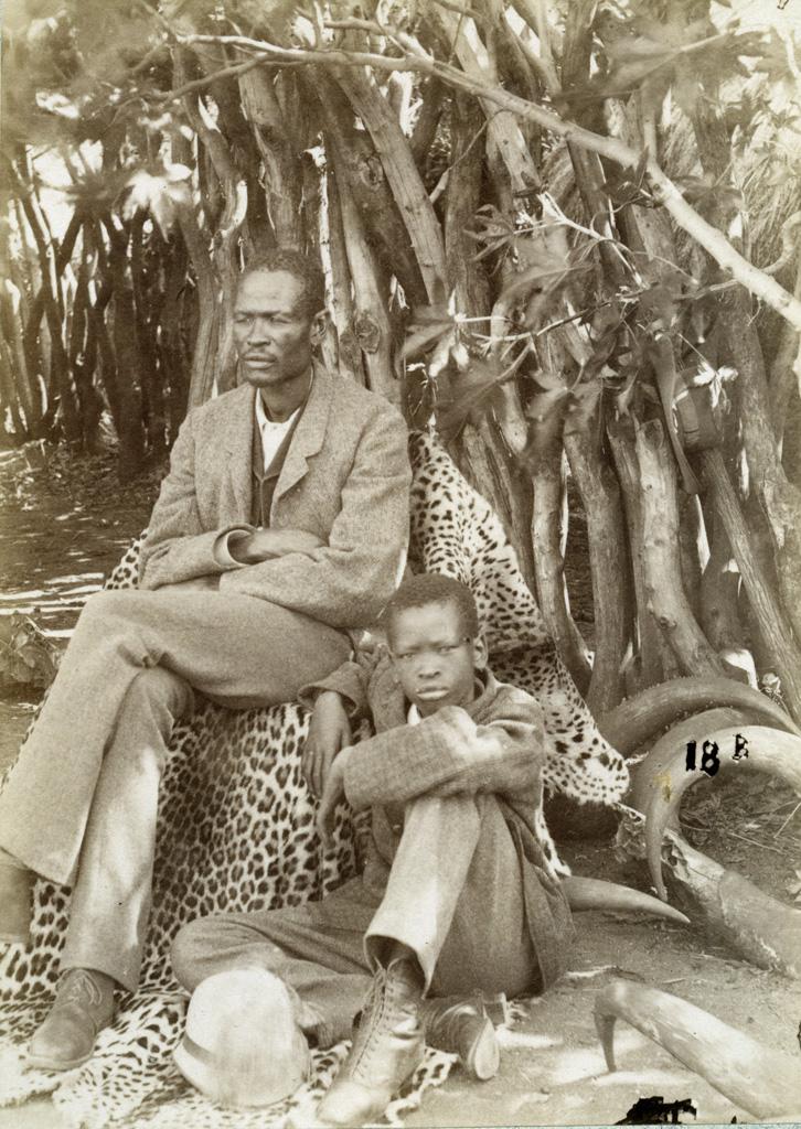 Mangwato, le chef Khama et son fils Sekhome