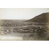 Mangwato, vue panoramique prise de l'Est