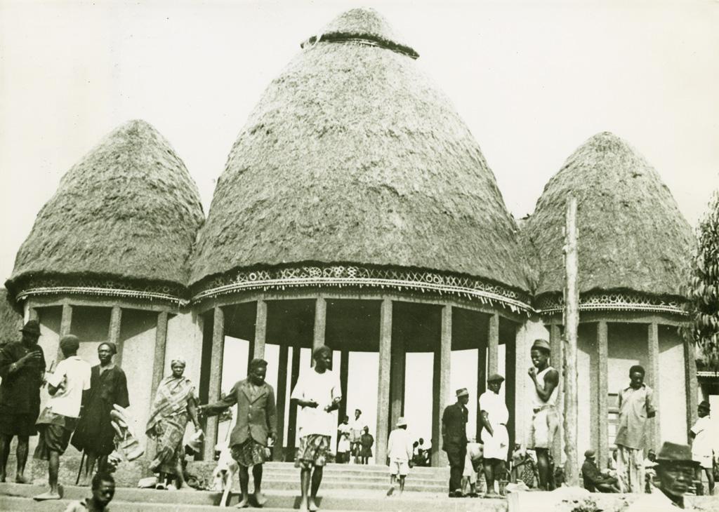 Marché de Dschang / non identifié (1940/1960)