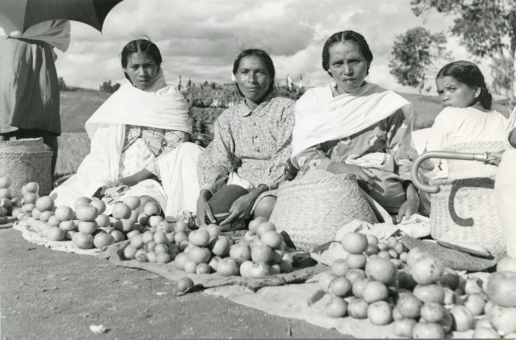 Marché - fruits, Hautes-Terres centrales