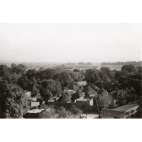 Maroua, vue de la terrasse de la tour du marché