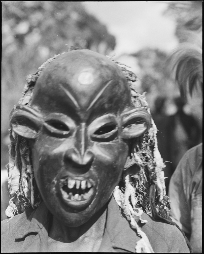 Masque à Bangina