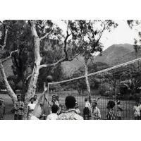 Match de volley-ball à Do-Neva
