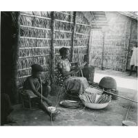Mise en batons du manioc à Douala