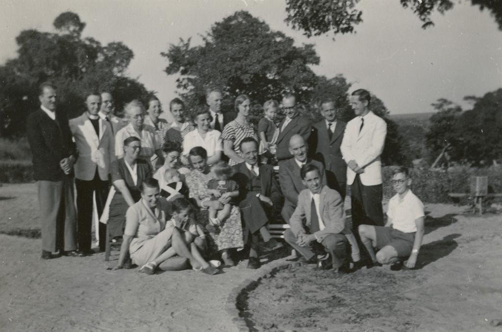 Missionnaires présents à la 54ème Conférence missionnaire à Séfula