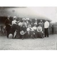 Missionnaires présents à la Conférence missionnaire de 1902, à Sesheke