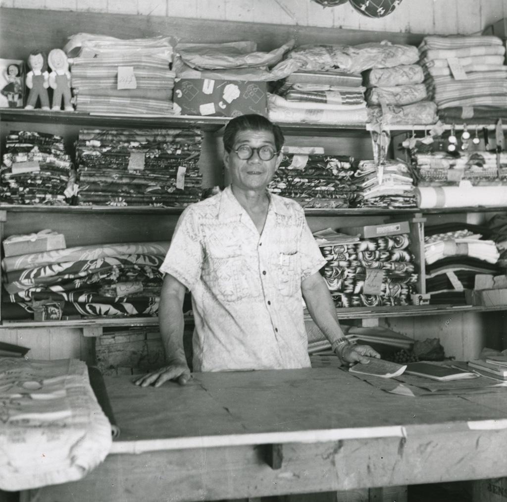 Monsieur Ah-Fen, un commerçant chinois
