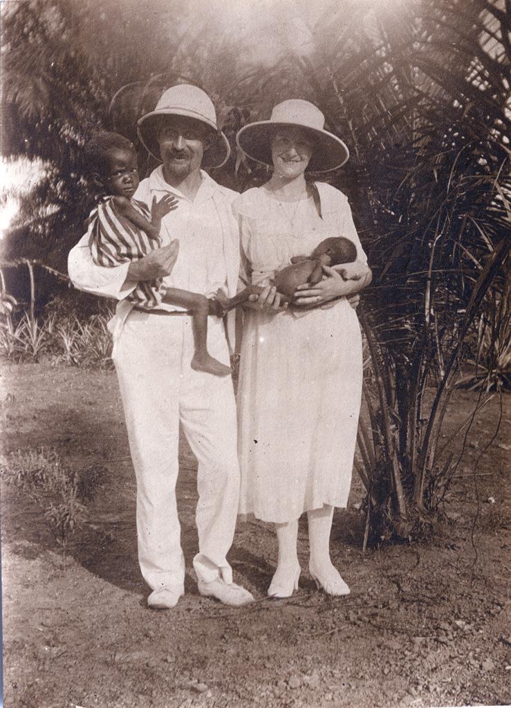 Monsieur et madame Pierre Galland, Bonabelie et Tabita