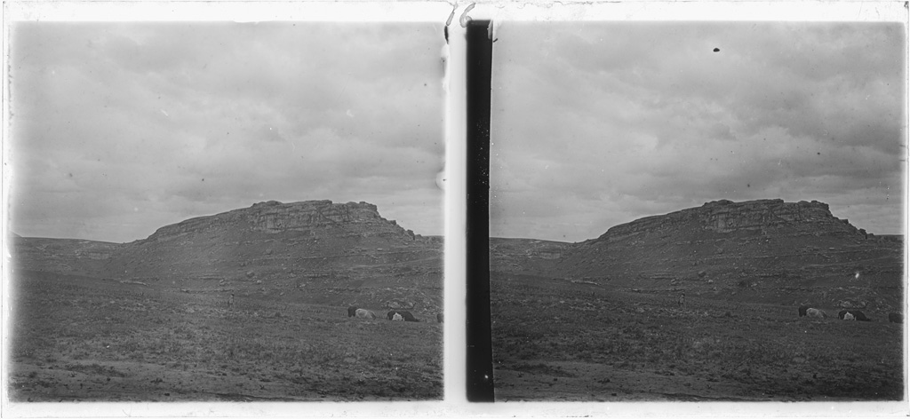 Montagnes autour de Leribe