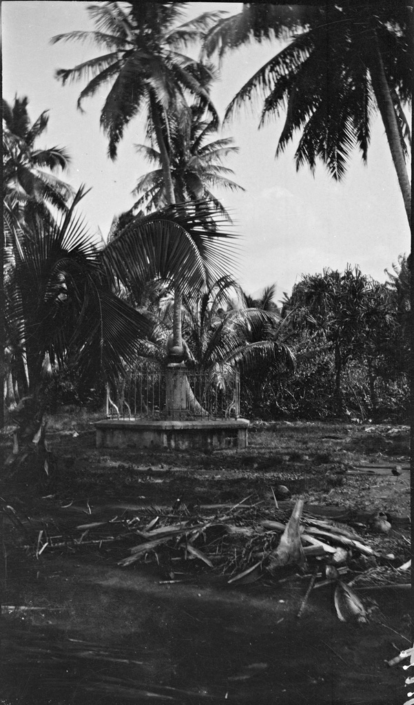 Monument Cook, Pointe Vénus, Tahiti