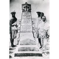 Monument commémoratif de Benjamin Escande et Paul Minault, entre Ambatolampy et Antsirabé