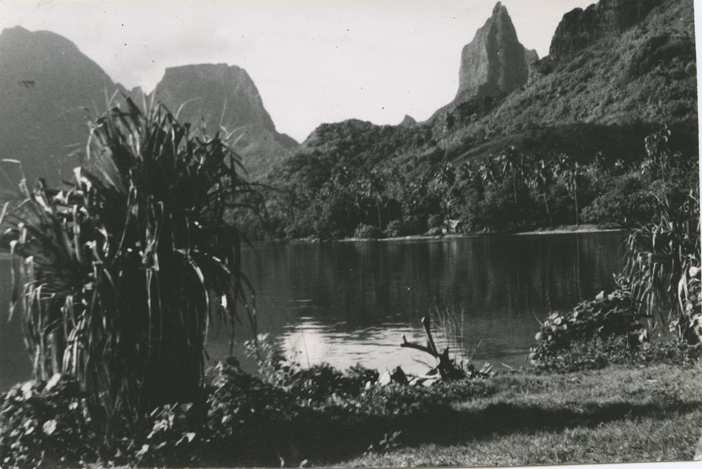 Moorea, près de Tahiti
