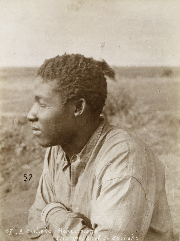 Morantsiane, principal chef de Séshéké