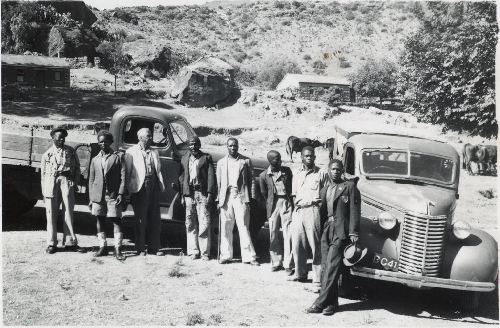 Moyens de transport modernes à Leloaleng